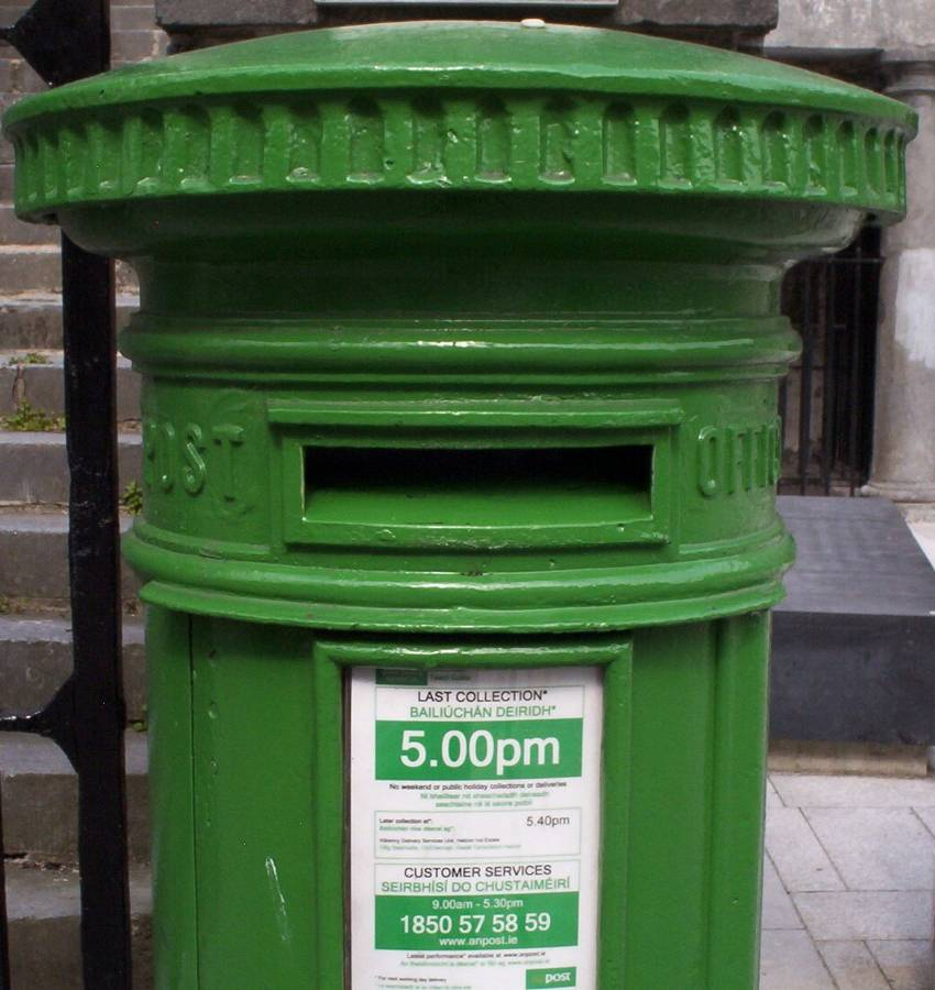 Irish Postal History Image Gallery Of Pillar Boxes Related