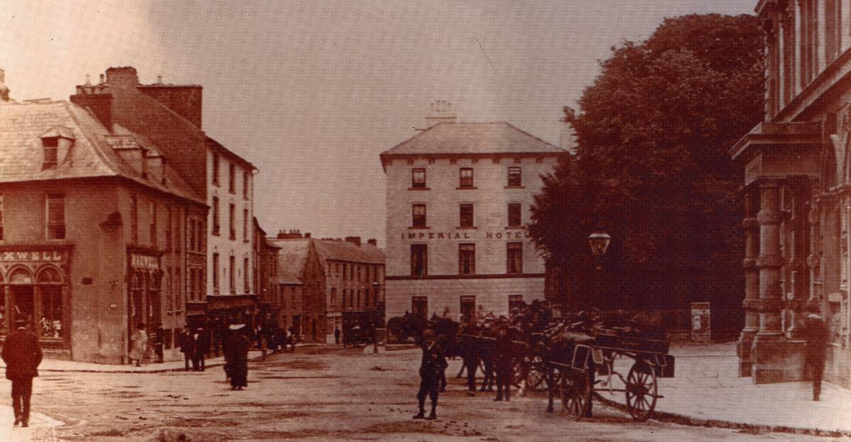 The Parade Kilkenny city Circa 1880