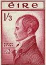 One Shilling & 3d Commemorative Stamp Robert Emmet 150th Anniv 1953
